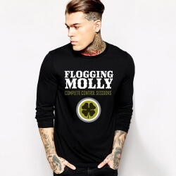 Rock Music Team Flogging Molly Tshirt Long Sleeve