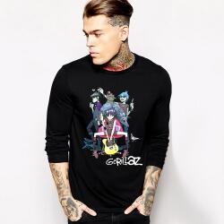 Rock Music Team Gorillaz Long Sleeve T-Shirt