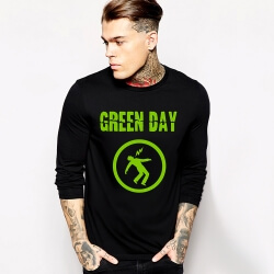 Rock Music Team Green Day Long Sleeve Tshirt