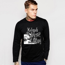 Rock Music Team Kalmah T-Shirt Long Sleeve