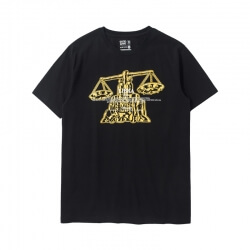 Saint Seiya Libra T-shirt Black Brozing Tee Shirt