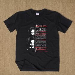 Sandor Clegane and Arya Stark T-shirt