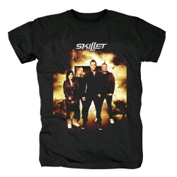 Skillet Band Tee Shirts Metal Rock T-Shirt
