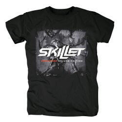 Skillet Band Tee Shirts Metal T-Shirt
