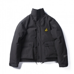 Lakers Championship Coat NBA Thick Jacket for Winter