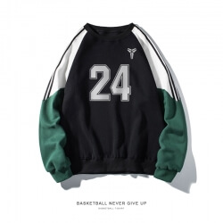 Quality Lakers Kobe Bryant Sweatshirt NBA NO.24 Manba Sweater