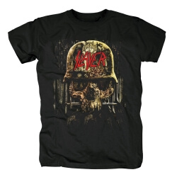 Slayer Tee Shirts Us Metal Band T-Shirt