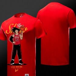 Son Goku T Shirt Red 4XL Couple Dragon Ball NBA Style T-shirt