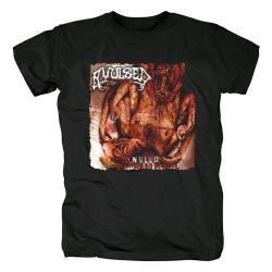 Spain Metal Graphic Tees Avulsed Nullo T-Shirt