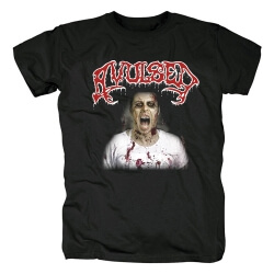Spain Metal Graphic Tees Unique Avulsed Yearning For The Grotesque T-Shirt