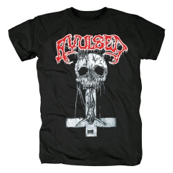 Spain Metal Tees Avulsed T-Shirt
