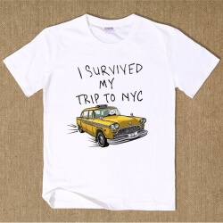 Spiderman Homecoming I Survived My Trip To NYC T shirt