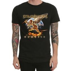 Stratovarius Band Rock Tshirt Black Heavy Metal Tee