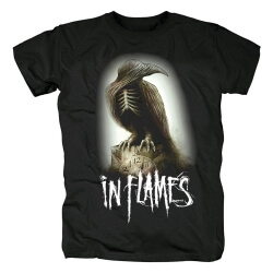 Sweden In Flames T-Shirt Metal Band Graphic Tees