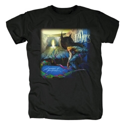 Sweden Metal Band Tees In Flames T-Shirt