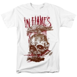 Sweden Metal Graphic Tees In Flames T-Shirt