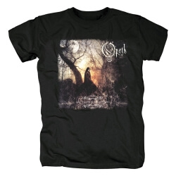 Sweden Opeth T-Shirt Hard Rock Black Metal Band Graphic Tees