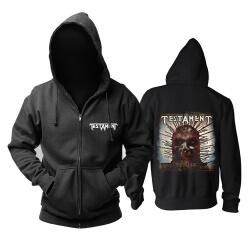 Testament Demonic Hoodie Metal Rock Sweat Shirt