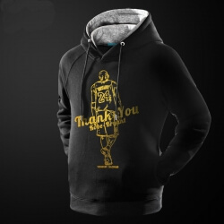 Thank You Kobe Bryant Hoodie NBA NO 24 Retired Sweatshirt