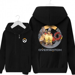 Torbjorn Zip Up Hoodie Mens Overwatch Clothing