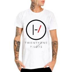 Twenty One Pilots T-Shirt Rock White Tee