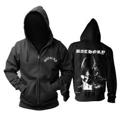 Unique Bathory Hoodie Metal Punk Rock Sweat Shirt