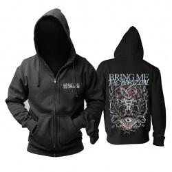 Unique Bring Me The Horizon Hoodie Metal Rock Sweat Shirt