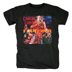 Unique Cannibal Corpse Band Tee Shirts Metal Rock T-Shirt