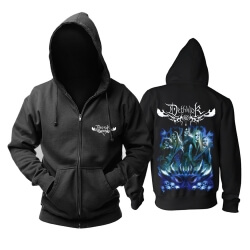 Unique Dethklok Hooded Sweatshirts Hard Rock Metal Music Band Hoodie