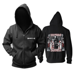 Unique Dimebag Darrell Hooded Sweatshirts Metal Punk Rock Band Hoodie