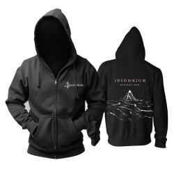 Unique Insomnium Hooded Sweatshirts Finland Metal Rock Band Hoodie