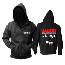 Unique Rancid Let The Dominoes Fall Hoodie Punk Rock Sweatshirts