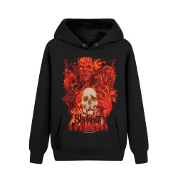 Unique Slipknot Hooded Sweatshirts Us Metal Rock Band Hoodie