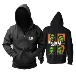 Unique Sum 41 Hooded Sweatshirts Canada Metal Punk Rock Band Hoodie