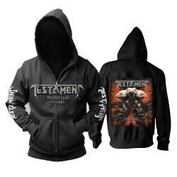 Unique Testament Testament Hoodie Metal Music Band Sweatshirts