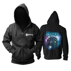 United States The Browning Hoodie Metal Music Band Sweat Shirt