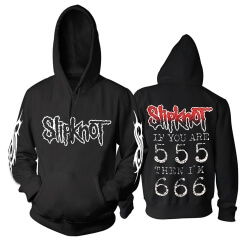 United States Slipknot Hoodie Metal Rock Band Sweat Shirt