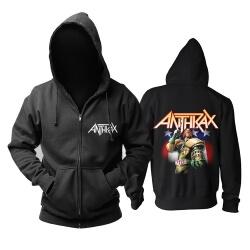 Us Anthrax Hoodie Hard Rock Metal Punk Rock Sweat Shirt