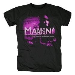 Us Metal Rock Graphic Tees Marilyn Manson T-Shirt