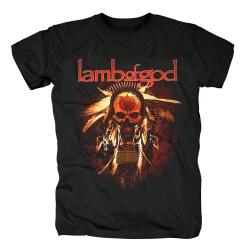Us Skull Band Tees Lamb Of Gad T-Shirt