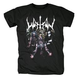 Watain Tee Shirts Black Metal Rock Band T-Shirt
