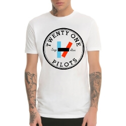 White Twenty One Pilots T-Shirt