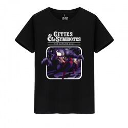Cotton Shirt Marvel Superhero Venom Tshirts