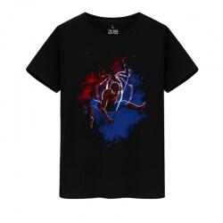 Marvel Hero Spiderman T-Shirts The Avengers Tees