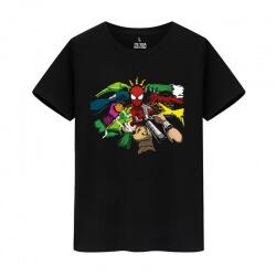 Marvel Hero Spiderman Shirt Avengers Tee Shirt