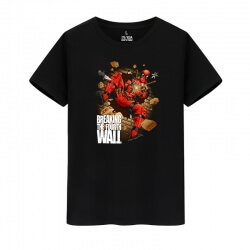 Marvel Hero Deadpool Tees Cotton T-Shirts