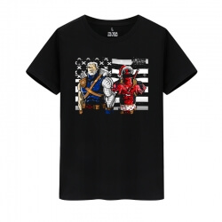 Marvel Hero Deadpool Shirt Cotton Tee Shirt