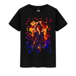 Marvel Hero Black Widow T-Shirts Avengers Tees