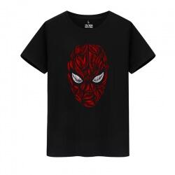 Marvel Hero Spiderman Tee Shirt Cotton Shirt