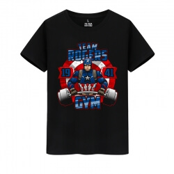 Captain America Tshirts Marvel The Avengers T-Shirts